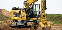 How Wheeled Excavators Are Evolving