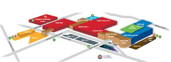 CONEXPO-CON/AGG Overview Map