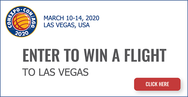 Enter to Win a Flight to CONEXPO-CON/AGG