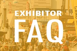 Exhibitor FAQ Tile