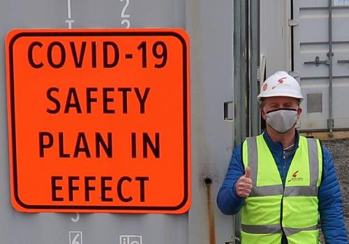 covid construction safety plan