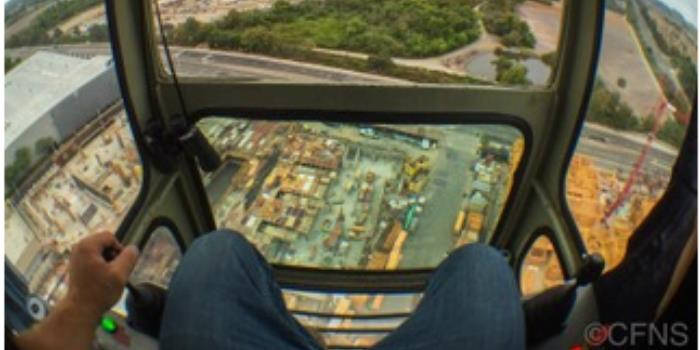 30-Stories Up: What It's Like to be a Tower Crane Operator