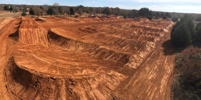 Former Professional Motocross Racer Randy Poulter Makes a Career Out of Track Building, Excavation Work