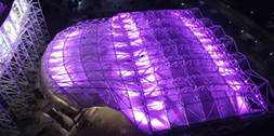 Sustainable Lighting for Big Stadiums